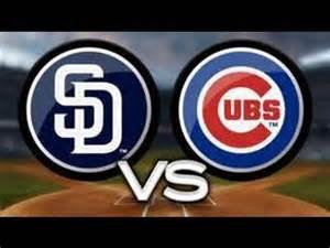 4 Homeruns In Game by Chicago Cubs Vs San Diego Padres Petco Park Youtube