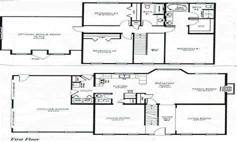 3 bedroom 2 storey house plans 2 story 3 bedroom house plans numberedtype