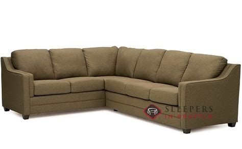 palliser sleeper sofa palliser corissa true sectional sleeper sofa