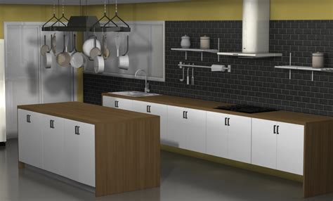 how do you hang kitchen wall cabinets kitchen design ideas an ikea kitchen with fewer wall cabinets