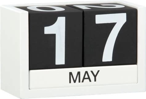 Modern Desk Calendar 365 Calendar Modern Desk Accessories By Cb2