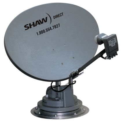 trav ler shaw direct satellite tv antenna reflector lnb kit winegard ska 733 satellite