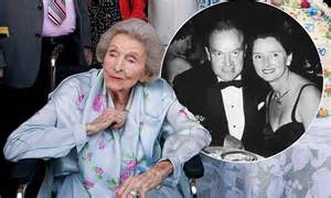 bob hope s wife bob hope s widow dolores dies aged 102 daily mail online