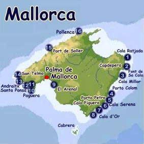 Karpet Karet Calya tauchbasen mallorca