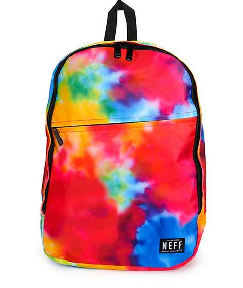 Backpack Groovy 10 neff daily tie dye 23l backpack zumiez