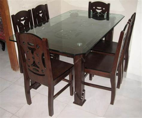 6 chair dining table price modern dining table solid mdf wood furniture with six