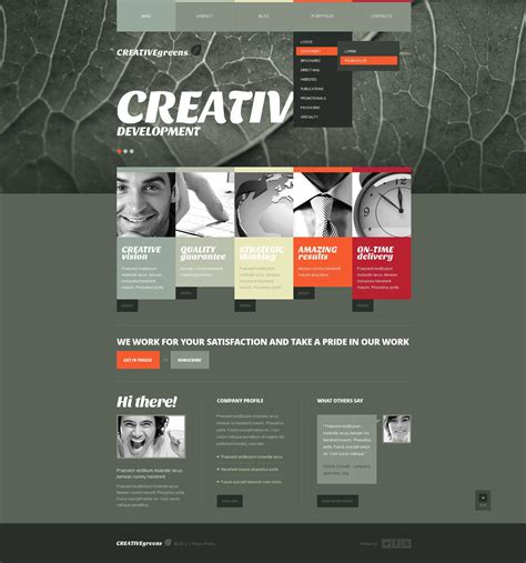 templates for advertising agency advertising agency joomla template 42074