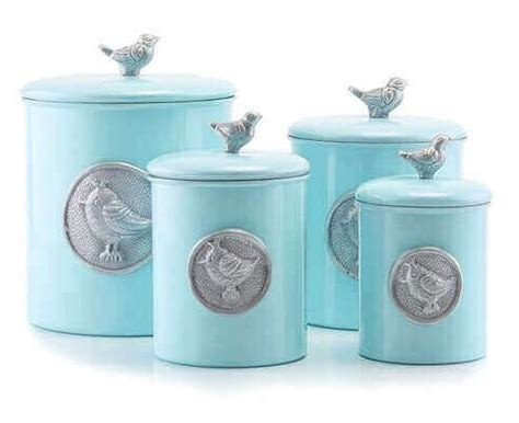 turquoise kitchen canisters 7 lovely turquoise kitchen canisters under 300 00