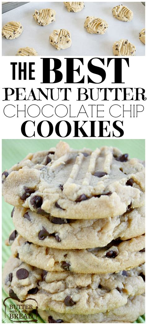 best peanut butter the best peanut butter chocolate chip cookies butter