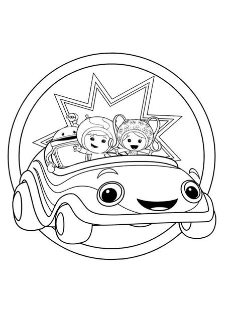 umizoomi coloring pages free printable umizoomi coloring