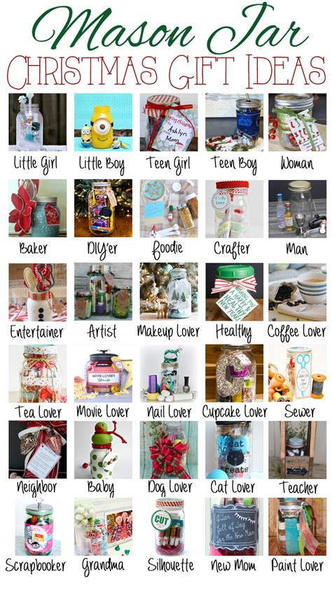 mason jar gift ideas redhead can decorate