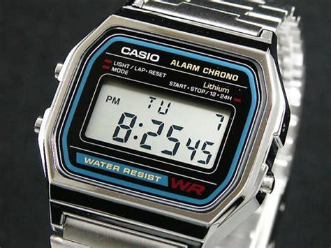casio a 158wa orologio vintage unisex casio a158wa 1df vintage casio watches