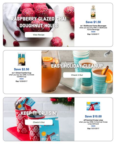 Carnival Gift Card Promotion Code - 25 merry days coupons for bolthouse farms beverage chinet comfort cups and carnival