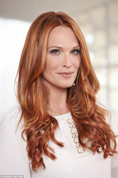 red headed women in late 40s pictures red haired actresses over 40 short hairstyle 2013