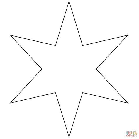 imagenes para colorear estrellas dibujo de estrella de seis picos para colorear dibujos