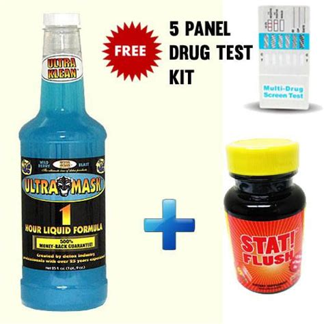 Stat Detox Drink by Ultra Mask Drink Stat Flush Capsules Pass My Test
