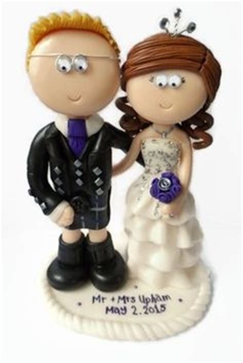 Handmade Cake Toppers Uk - 1000 images about scottish groom wedding cake