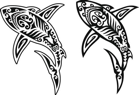 tribal shark tattoos meaning the real meaning of a shark and some cool design ideas