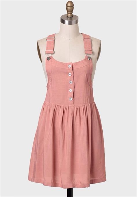 Pinkan Overal dress pretty in pink overall dress wheretoget