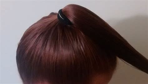 trimming your hair upside down how to cut your own hair pei magazine