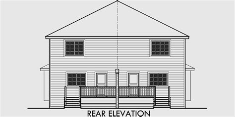 Duplex House Plans Narrow Lot Duplex House Plans D 556 Duplex House Plans In Canada