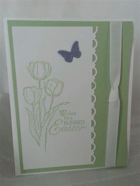 Handmade Cards Ebay - stin up handmade greeting card blessed easter ebay