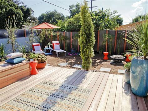 backyard platform deck photo page hgtv