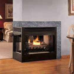 multifunction sided ventless gas fireplace smell