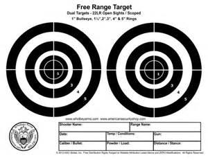 Free printable targets 8 5 x 11 car tuning