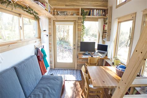 Micro Homes Interior by Solar Tiny House Project On Wheels Idesignarch