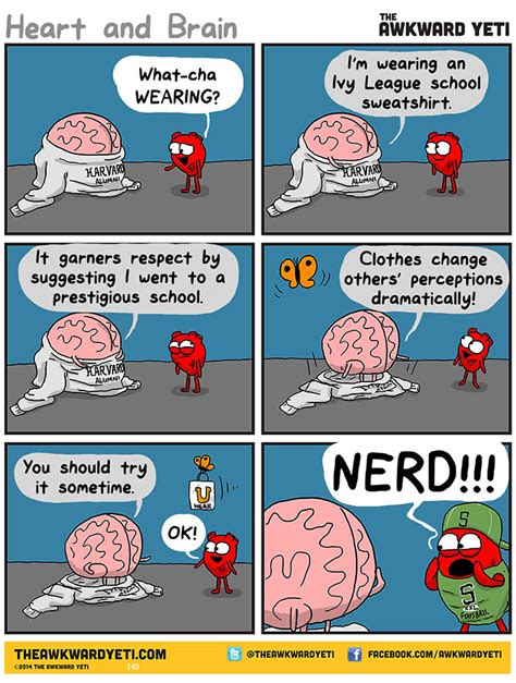 vs brain webcomic shows constant battle