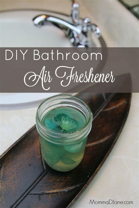 diy bathroom deodorizer diy bathroom air freshener life family joy