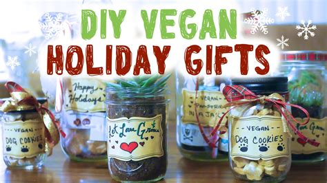 vegan holiday ideas diy mason jar gifts youtube