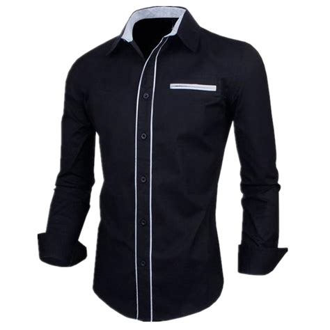 Shirts For Sale 2016 Sale Shirt Striped Sleeve Slim Fit Mens