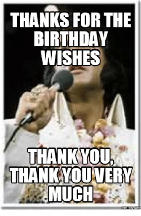 Thank You For The Birthday Wishes Meme - 25 best memes about thanks for the birthday wishes meme