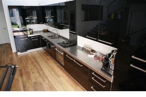 plan de travail inox pour cuisine