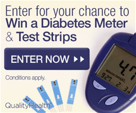 Your Chance To Win Free Stuff by Win A Diabetes Meter Strips Seriously Free Stuff
