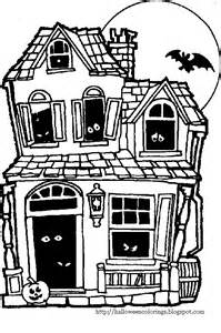 haunted house coloring pages colorings