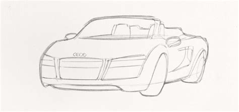 how to draw an audi r8 drawingforall net how to draw tony stark s audi r8
