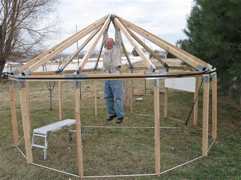 Building A Frame by Yurt Builder