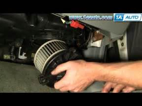 how to install replace heater ac blower motor honda accord