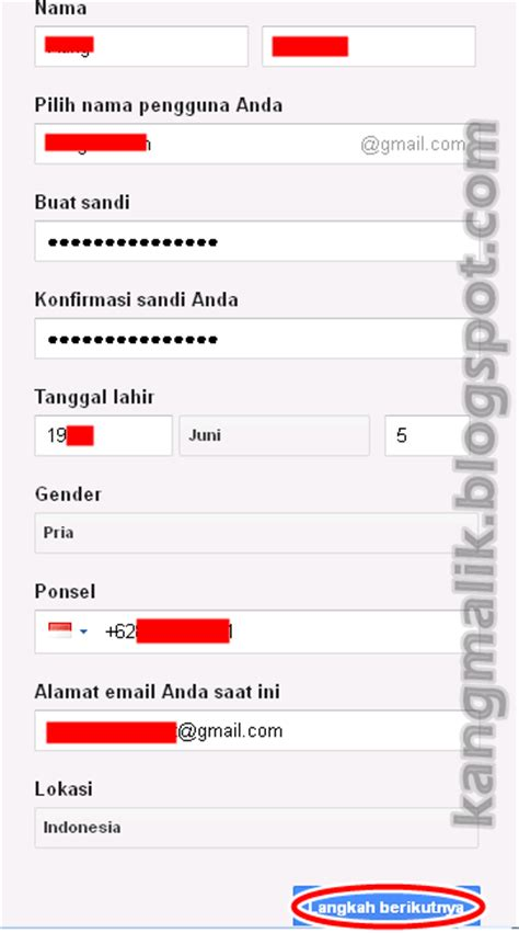 cara membuat akun gmail di hp iphone kang malik