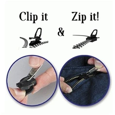 Sport Bra Resleting Zipper Murah 1 fix a zipper replacement repair kit 6 in 1 resleting