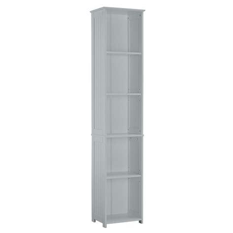 adamo bathrooms adamo bathroom storage unit in grey with 5 compartment