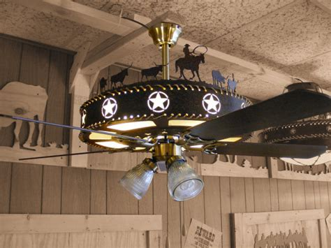 western ceiling fans with lights cherokee iron works rustic western lighting rustic