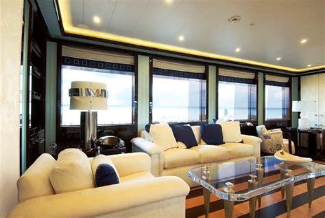 Alfa Nero Yacht Interior by Oceanco Motor Yacht Alfa Nero Interior Luxury Yacht