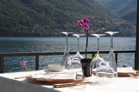dinner on a boat lake como lake como water taxi boat cruise dine