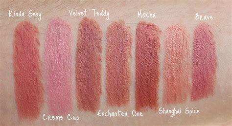 mac lipstick shades on pinterest mac lipstick swatches mac quot my lips but better quot lipsticks beauty twist com
