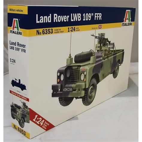 land rover italeri italeri 1 24 6353 land rover lwb 109 ffr military kit