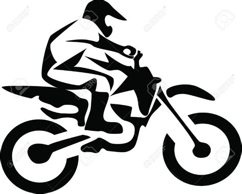 motocross bike free dirt bike clipart 50